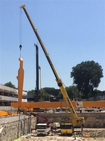 100 Ton Mobil Vinç Metro Projesi